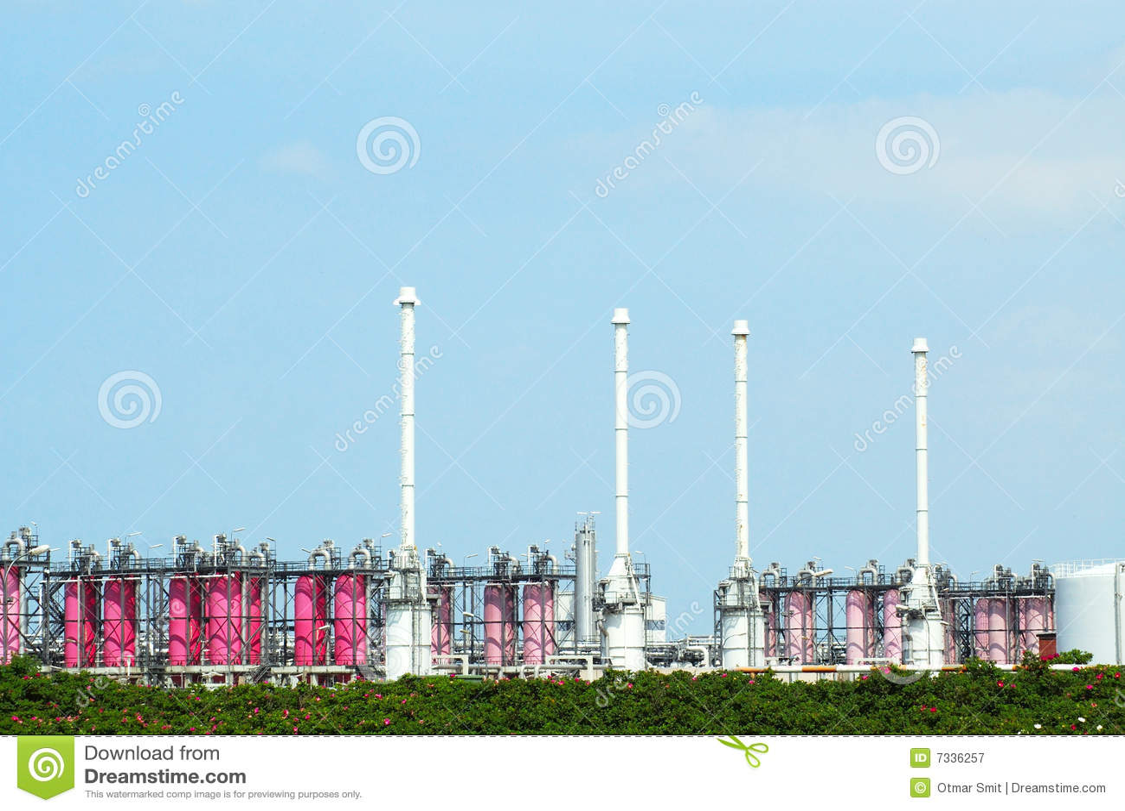 Raffinerie de gaz
