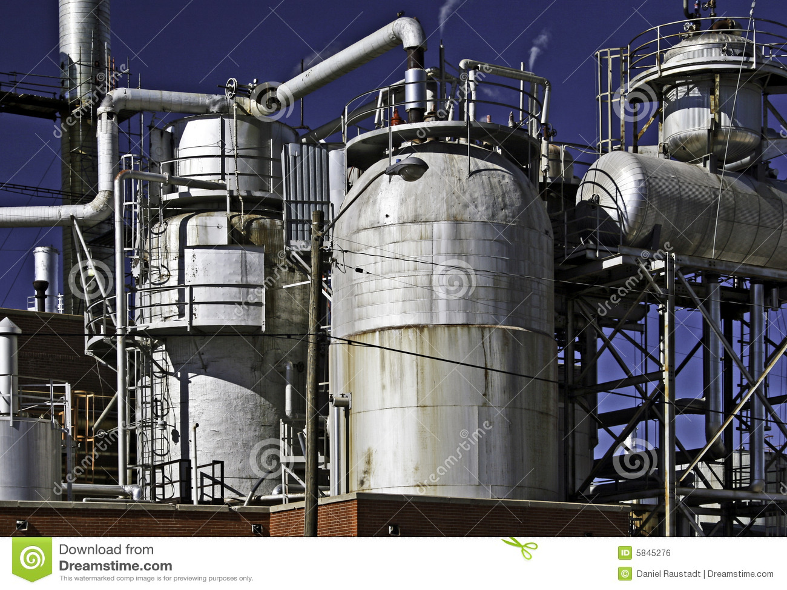 Raffinerie de gaz de pétrole