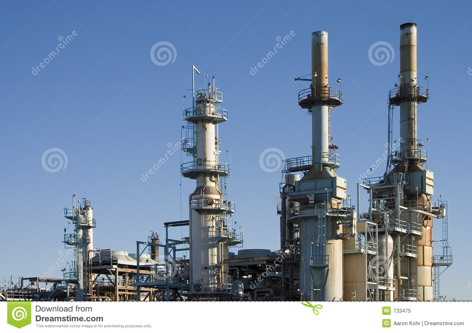Raffinerie de pétrole 1