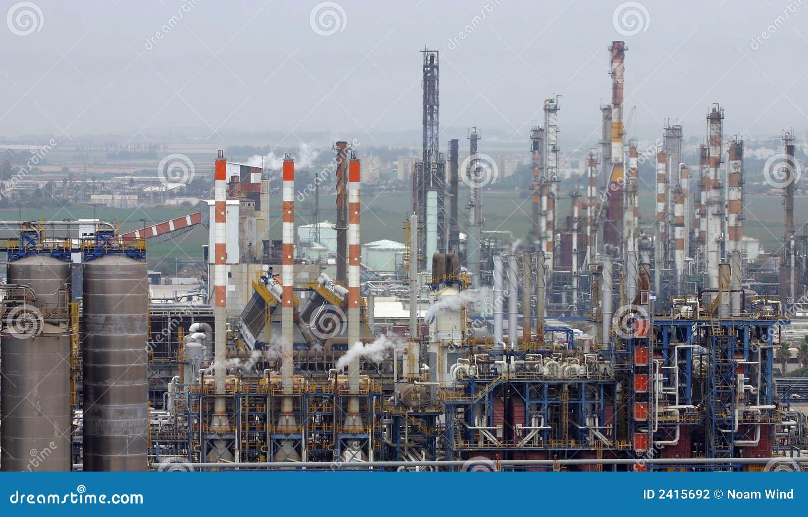 Raffineries de pétrole