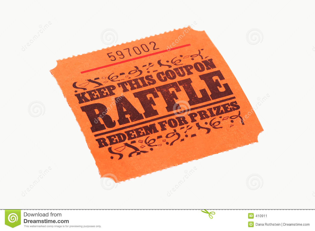raffle stock photos images pictures images raffle ticket stock image
