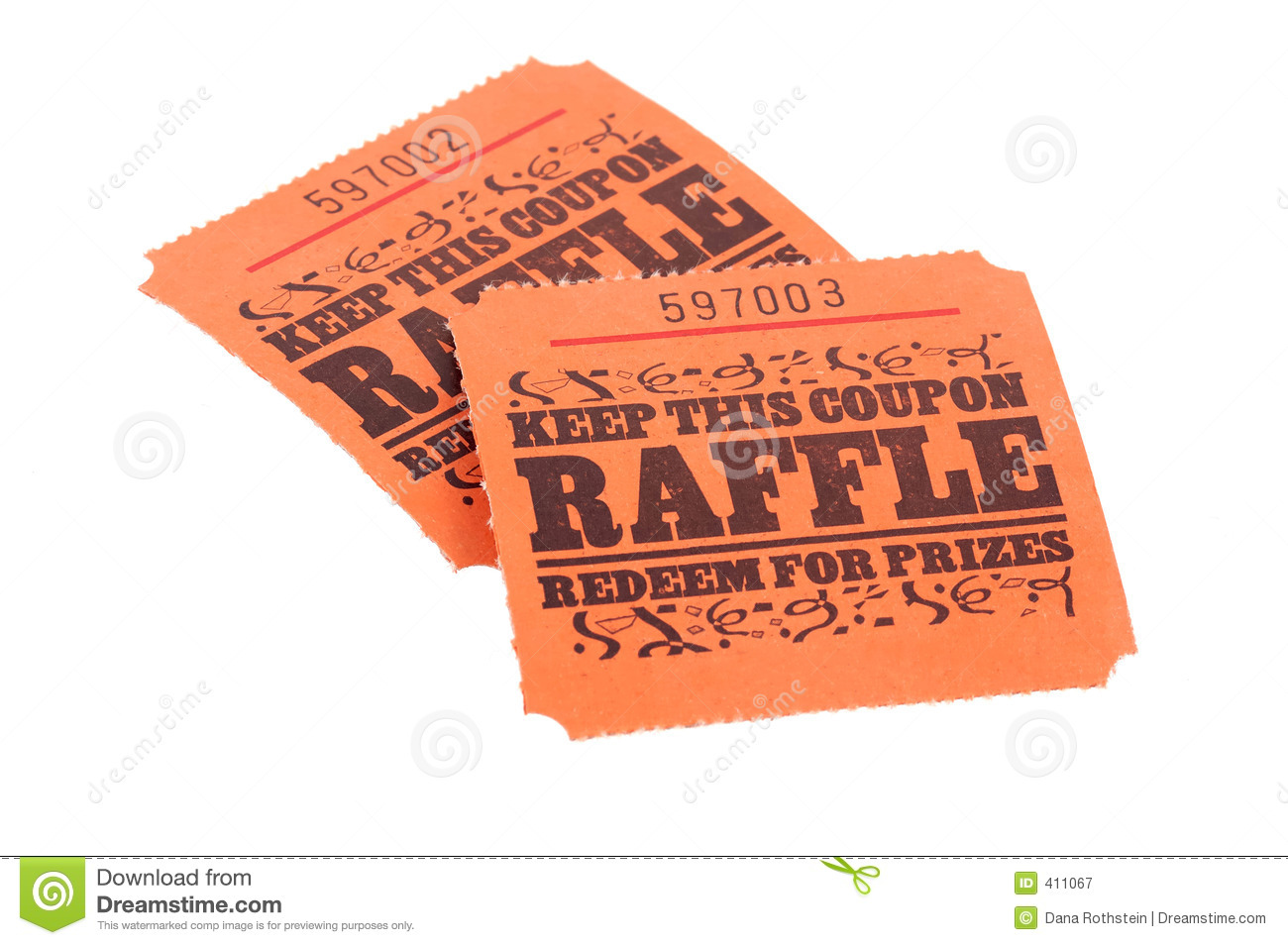 raffle tickets royalty stock photography image 411067 raffle tickets