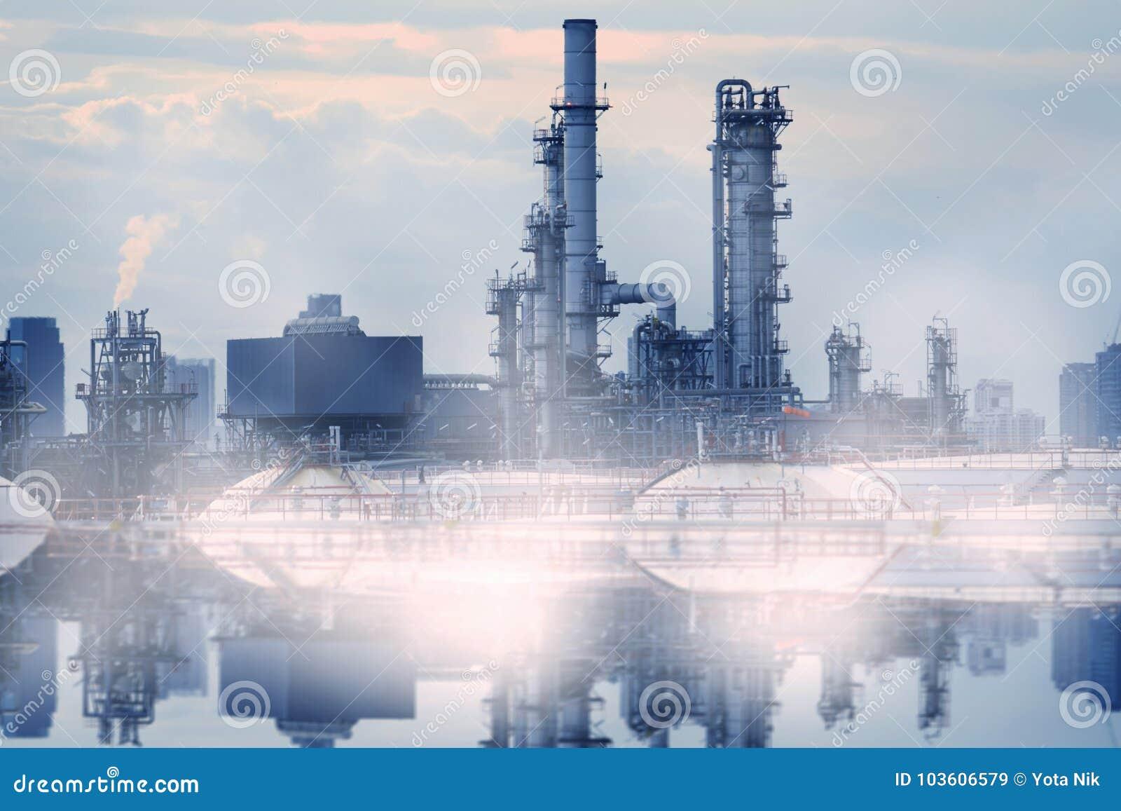 Rafinerii Ropy Naftowej zanieczyszczenie