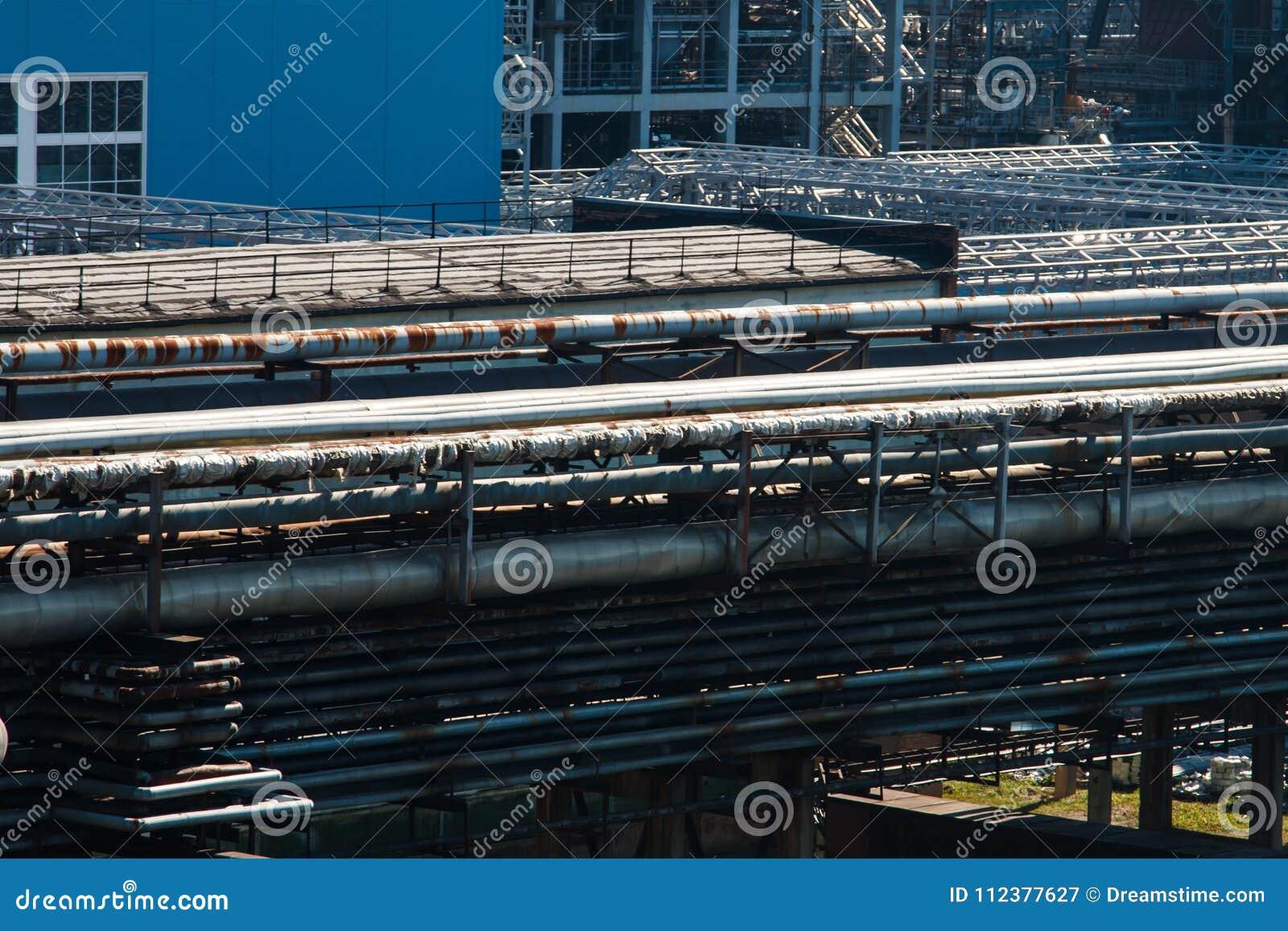 Rafineryjny gazu ropy naftowej