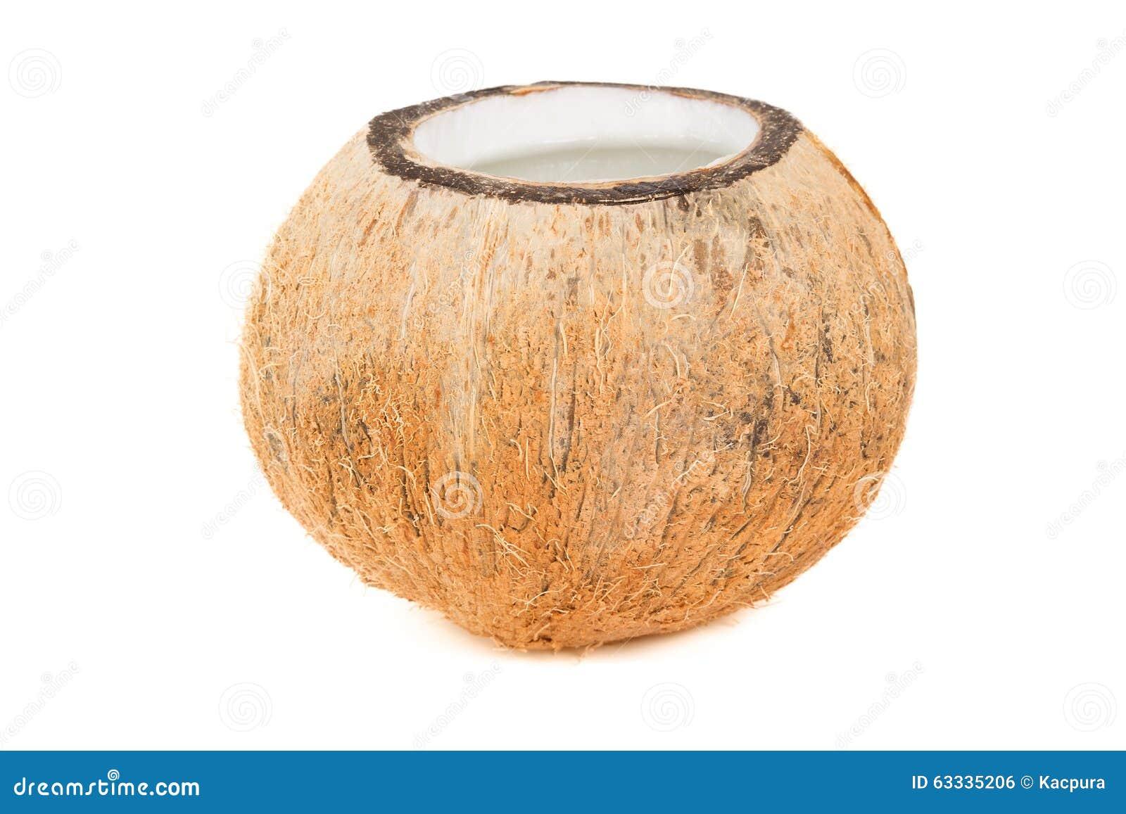 Rafrescamento tropical do coco