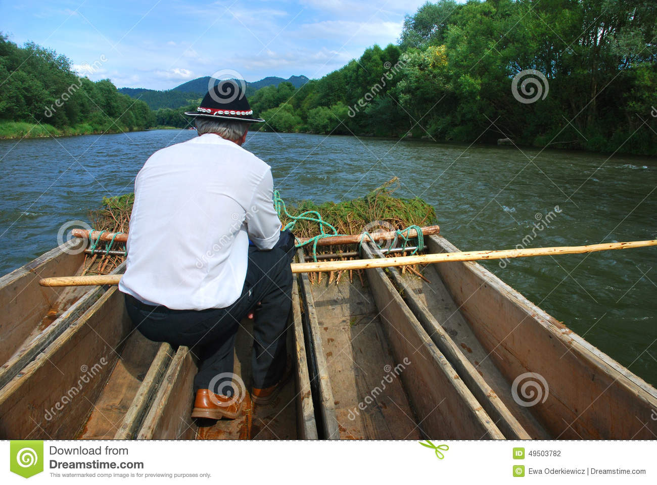 Rafter on the Dunajec