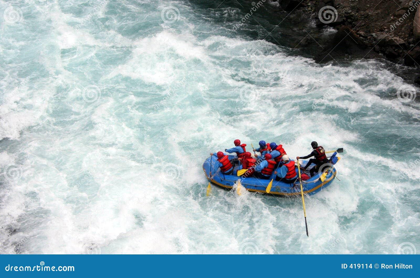 Rafting ποταμός