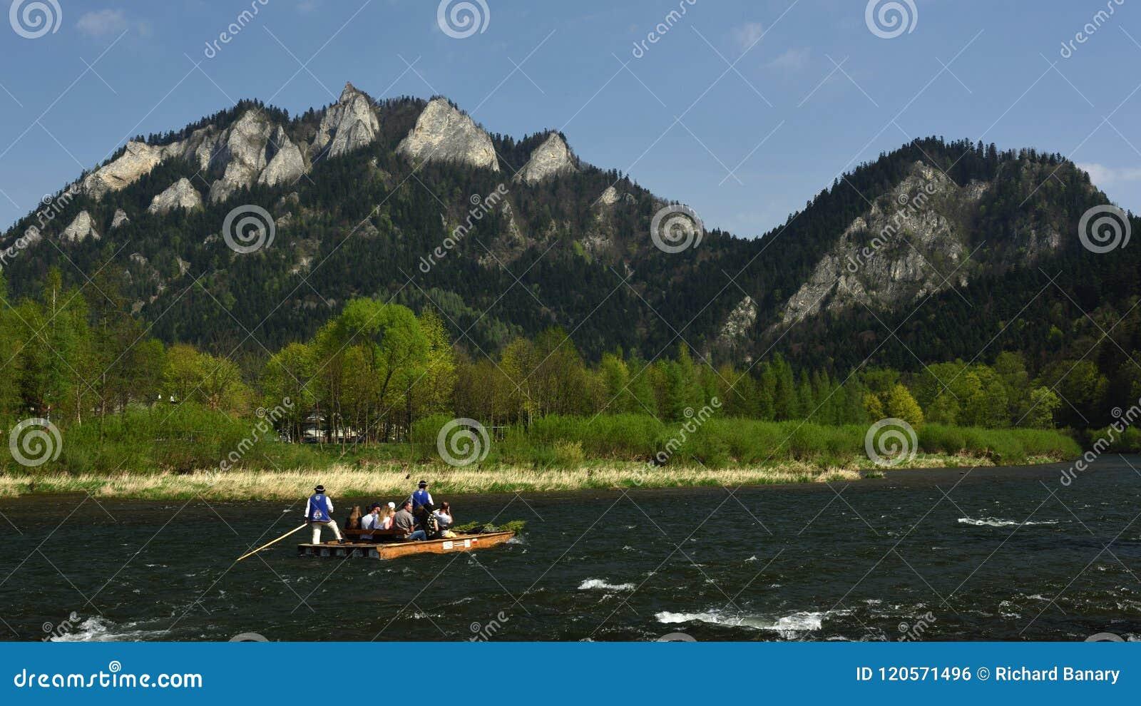 Dunajec Rafting, Pieniny, Spis Region, Slovakia