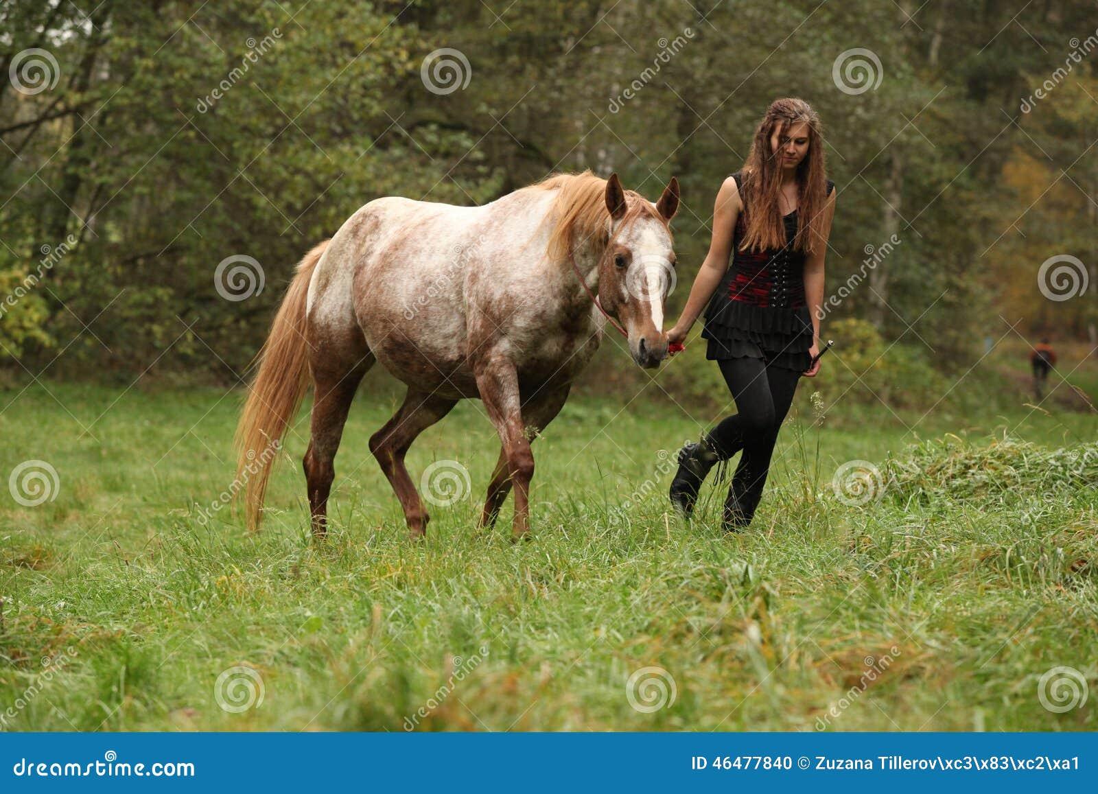 image Marina il cavallo e lo stallone pt3
