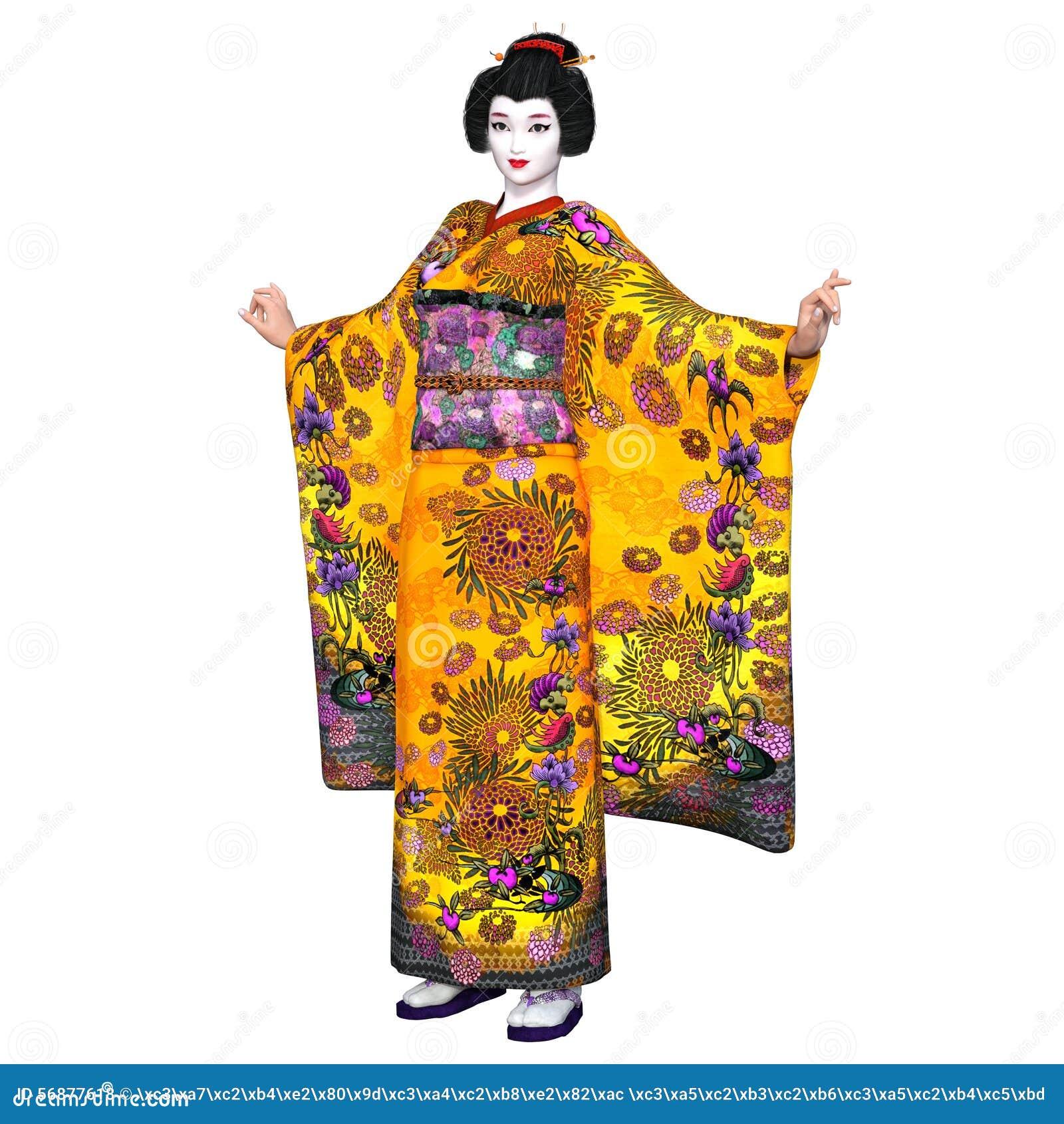 Ragazza di geisha