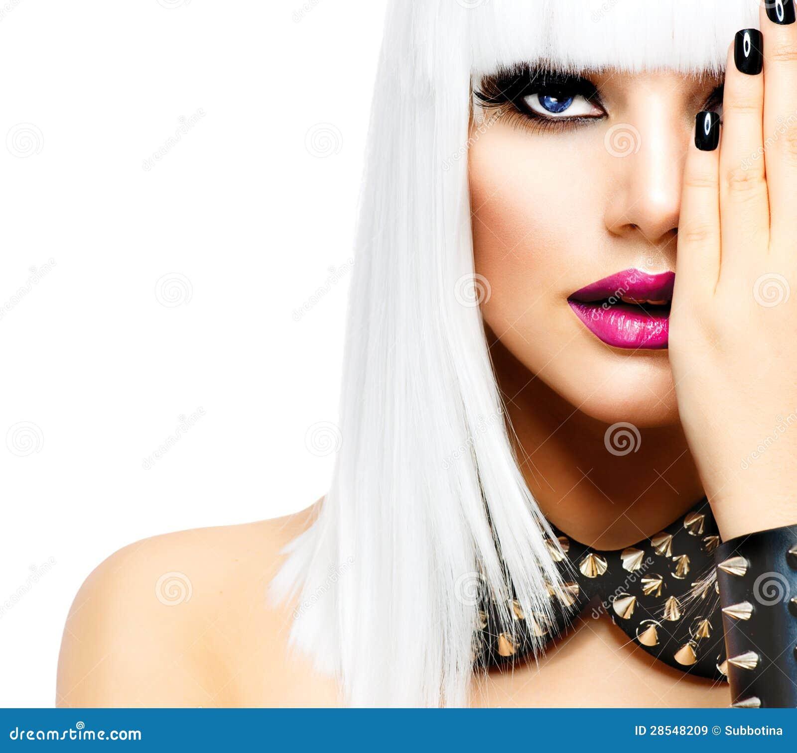 Ragazza punk di stile di modo immagine stock immagine di for Modo 10 prezzi