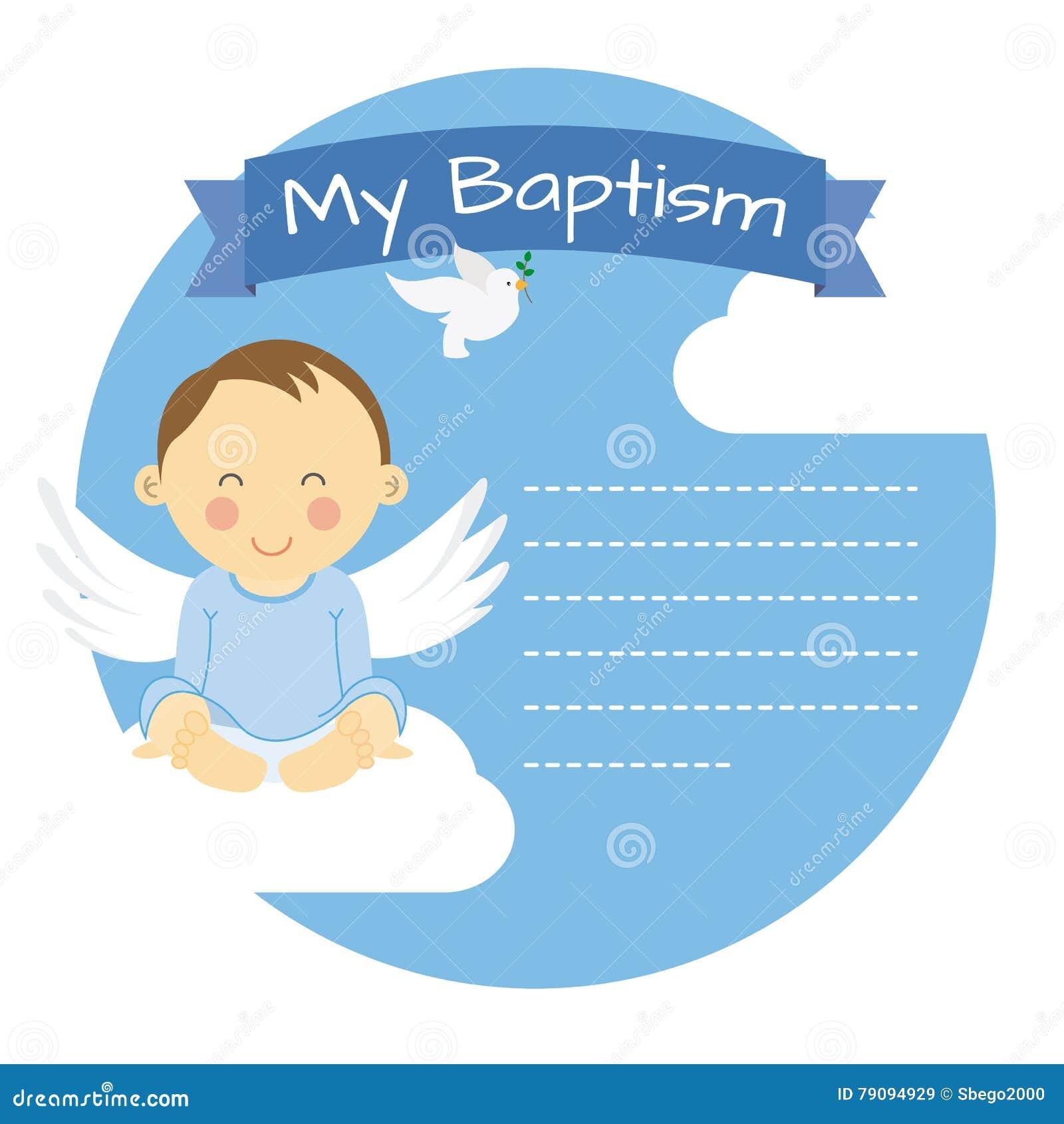 Ragazzo di battesimo