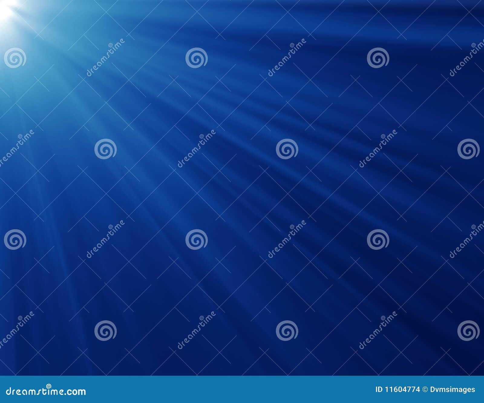 Raggi blu