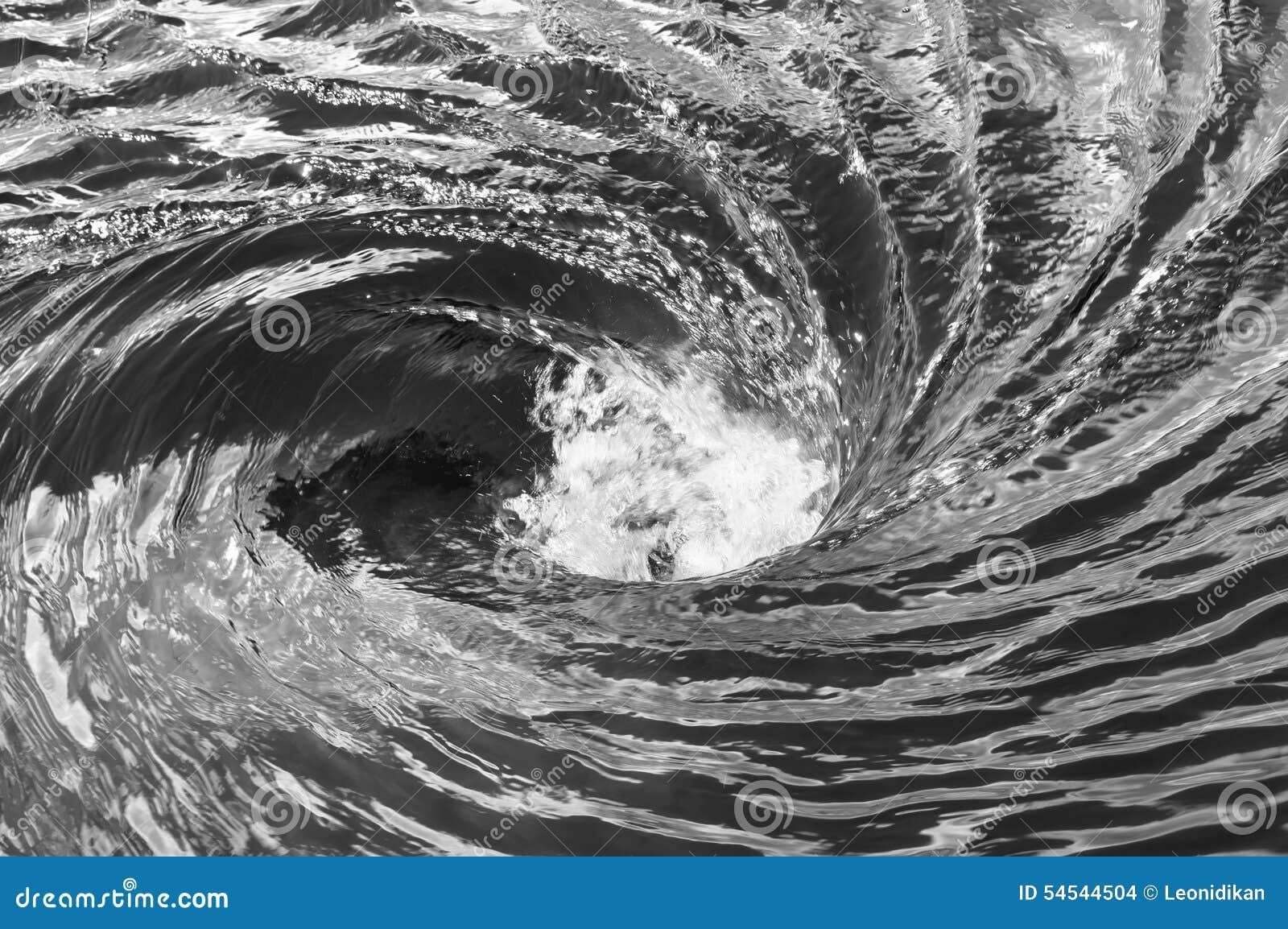 The Raging Whirlpool Stock Photo Image 54544504