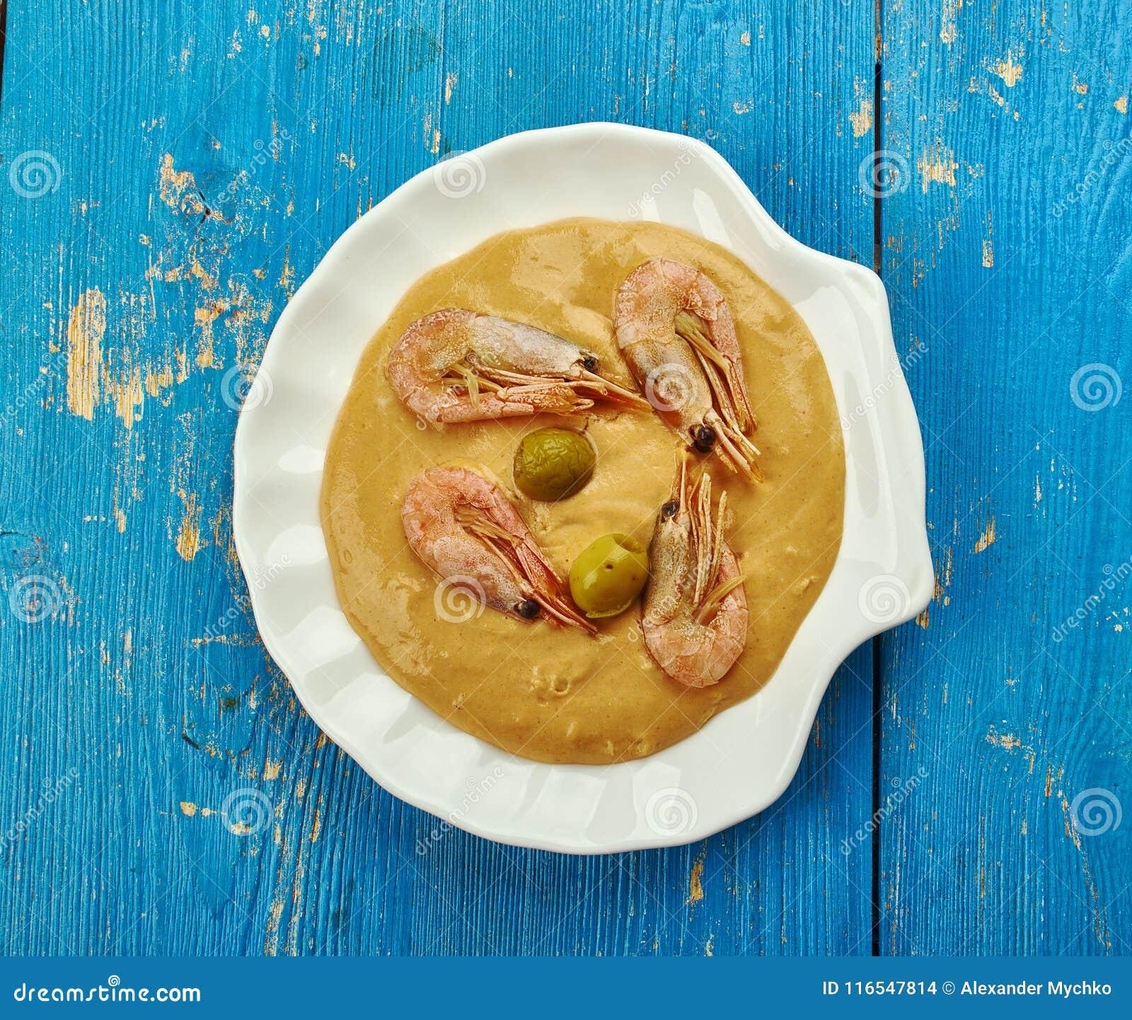 Ragoût brésilien de crevette