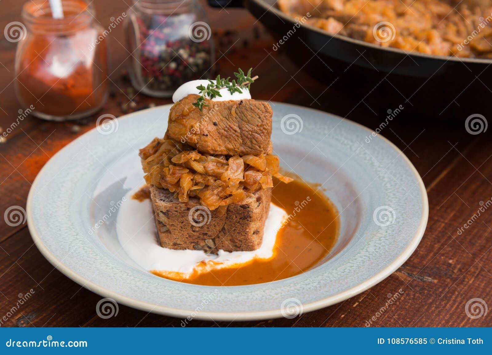 Ragoût hongrois de chou