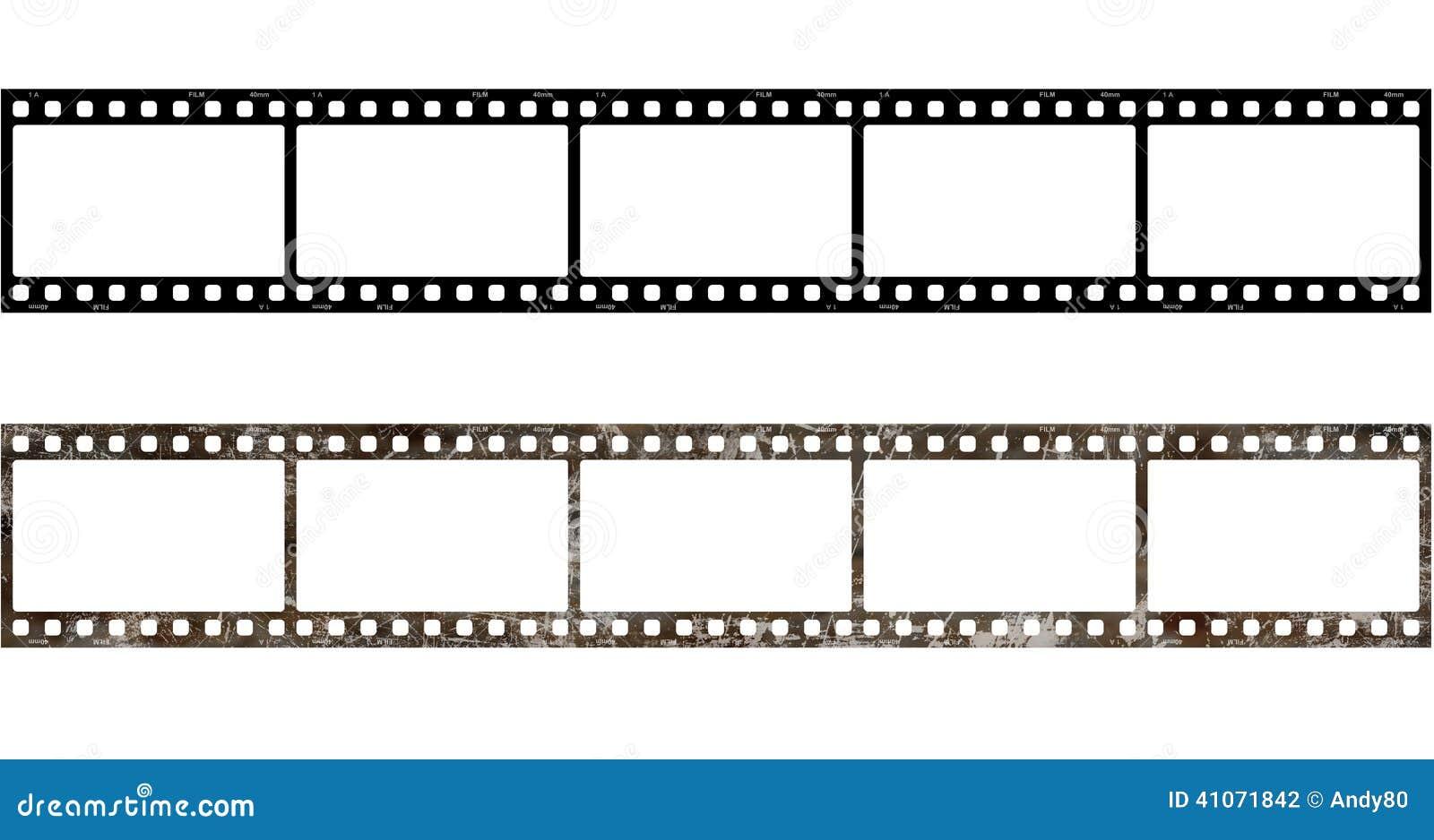Rahmen des Film-5x alt stock abbildung. Illustration von feld - 41071842