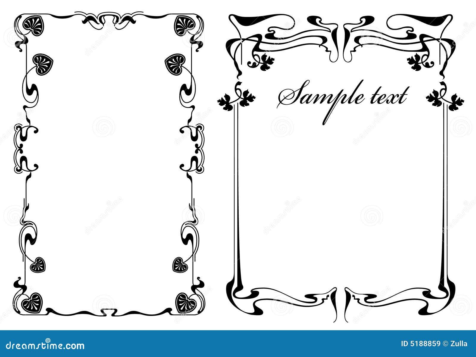 rahmen modern vektor abbildung illustration von zeile. Black Bedroom Furniture Sets. Home Design Ideas