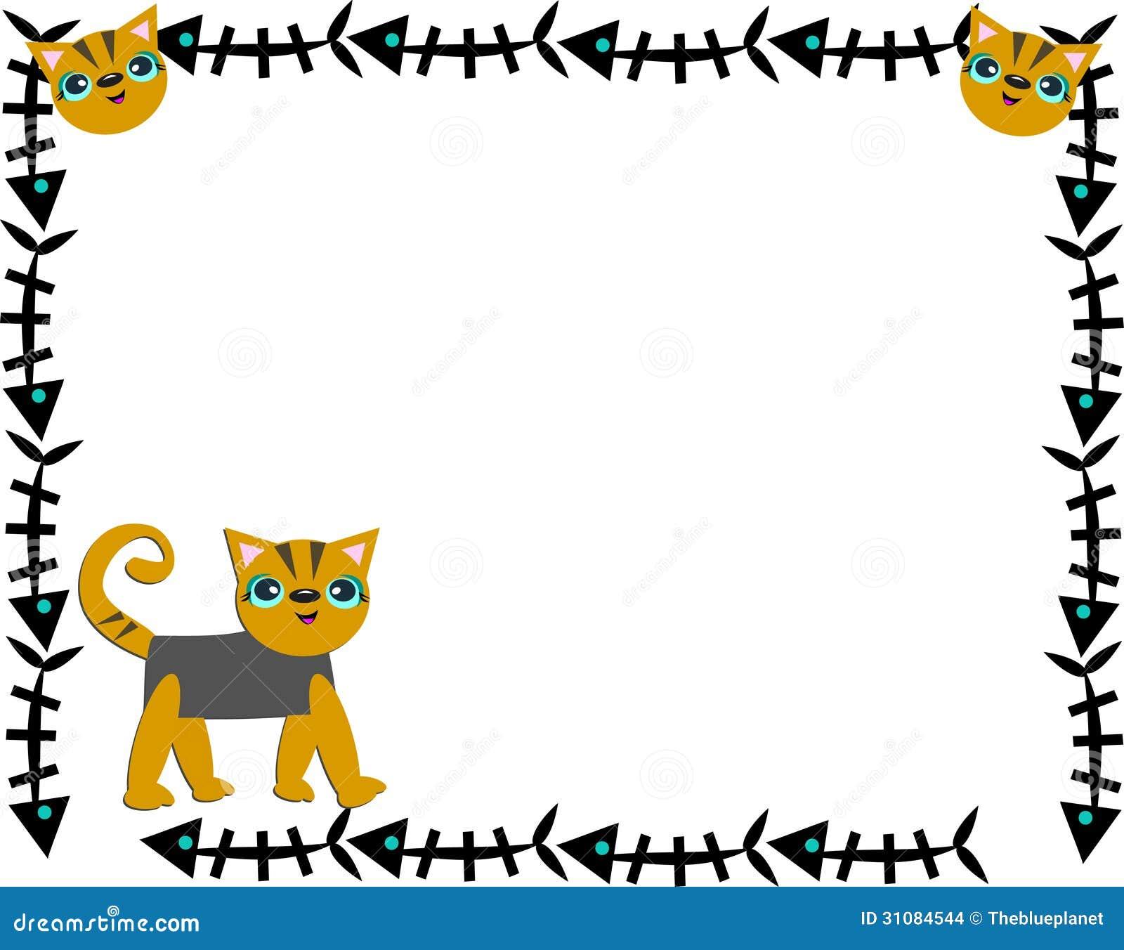 Mehr aehnliche stockbilder rahmen von fischgräten und von katzen