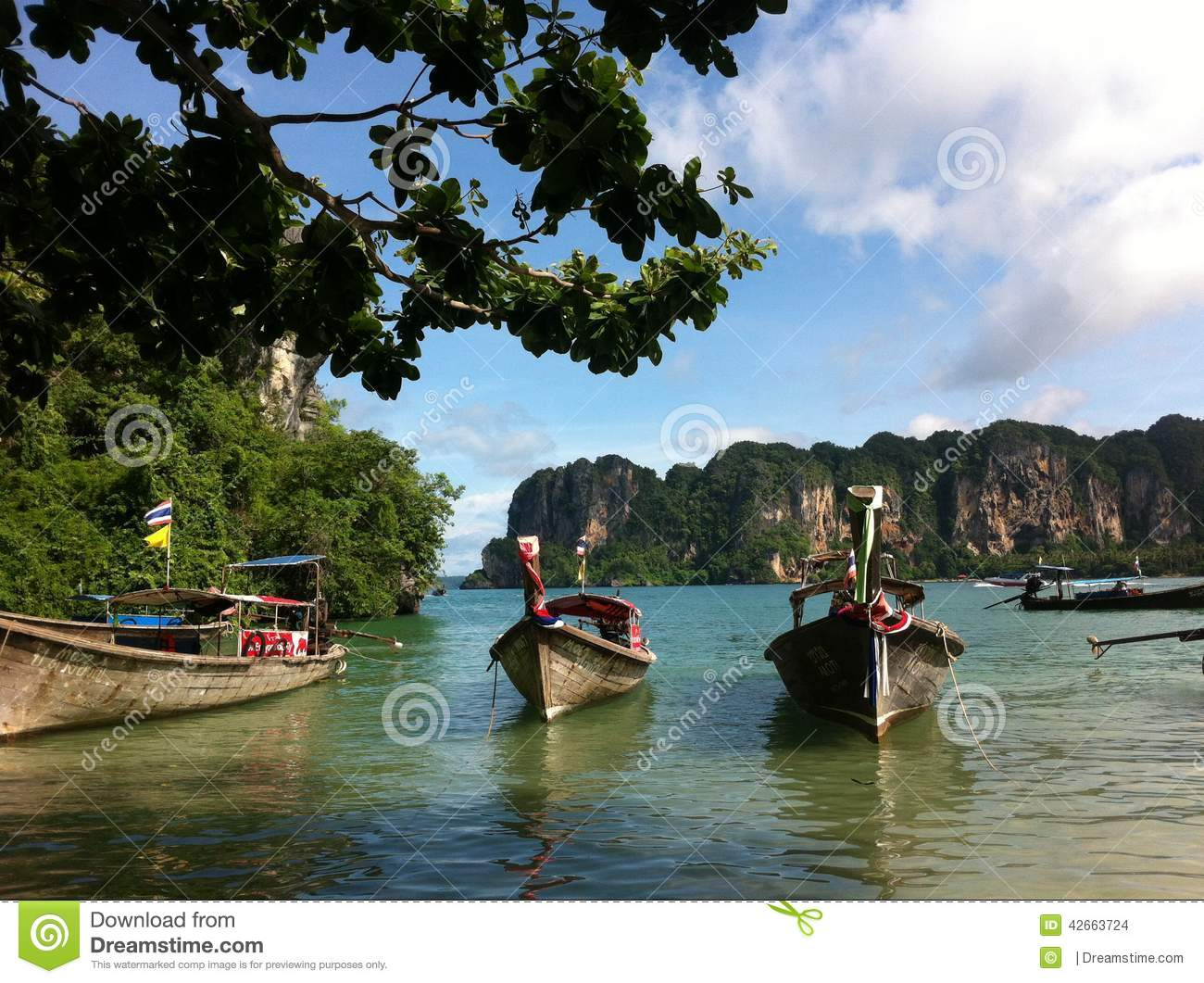Rai Lay Krabi Editorial Stock Image Image 42663724