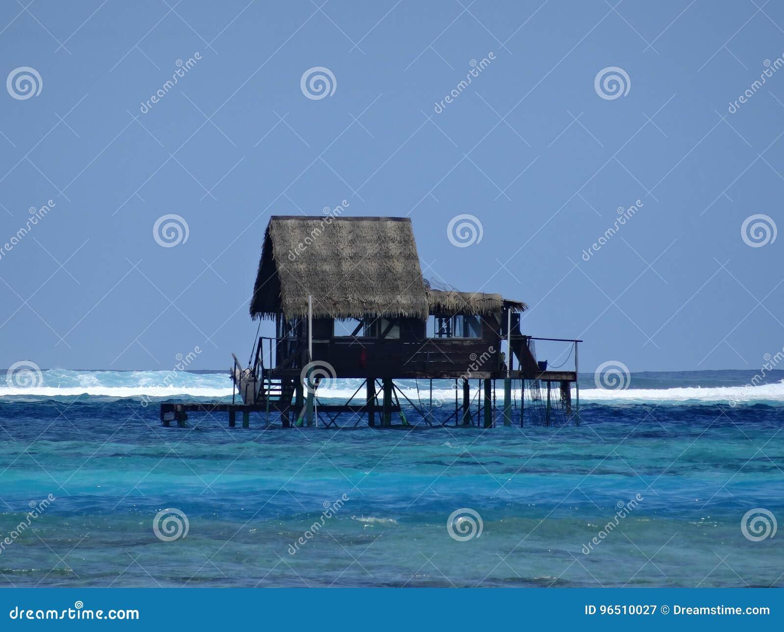 Raiatea Island, Tahaa Island, Tahiti Stock Image - Image of
