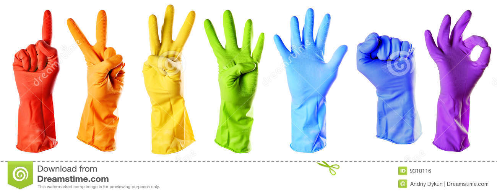 Член и резиновые перчатки 7 фотография