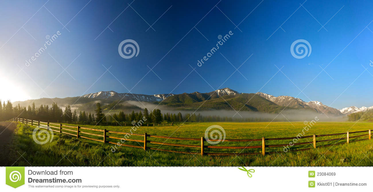 Rail Fence for Wyoming Ranch
