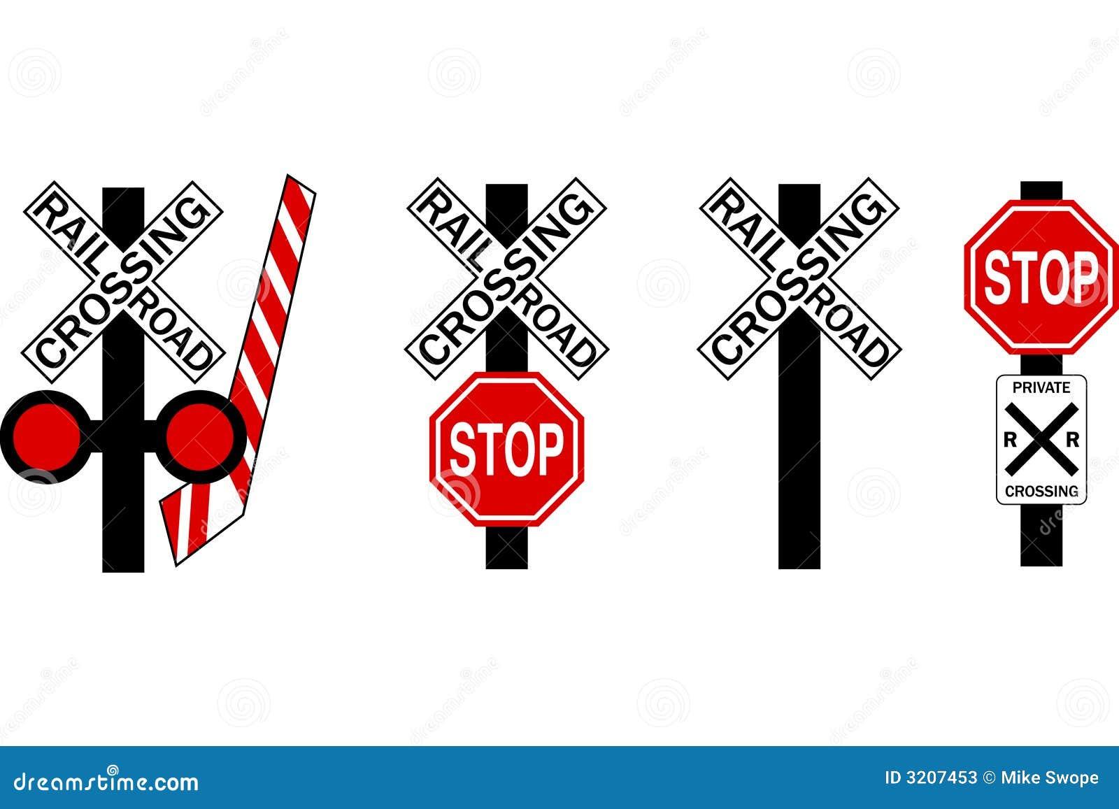 Railroad Crossing Clip Art Clip Art Railroad crossing