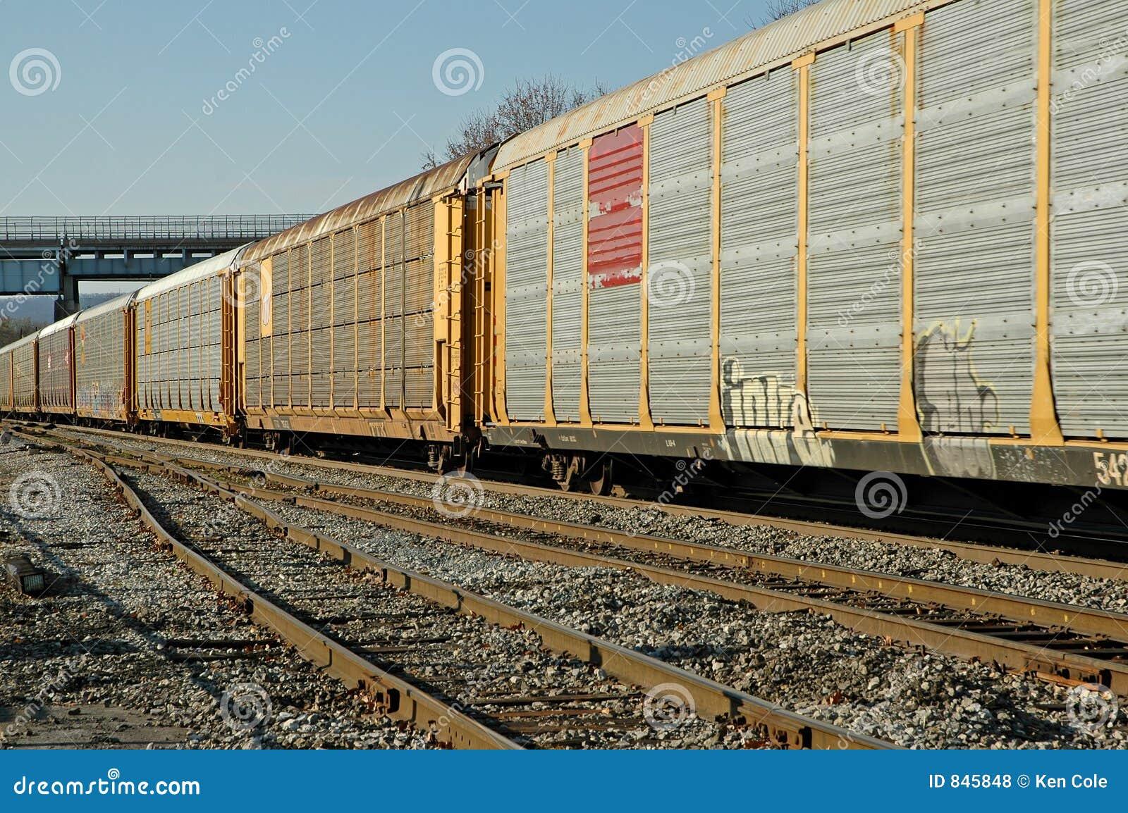 Railroad Freight Train