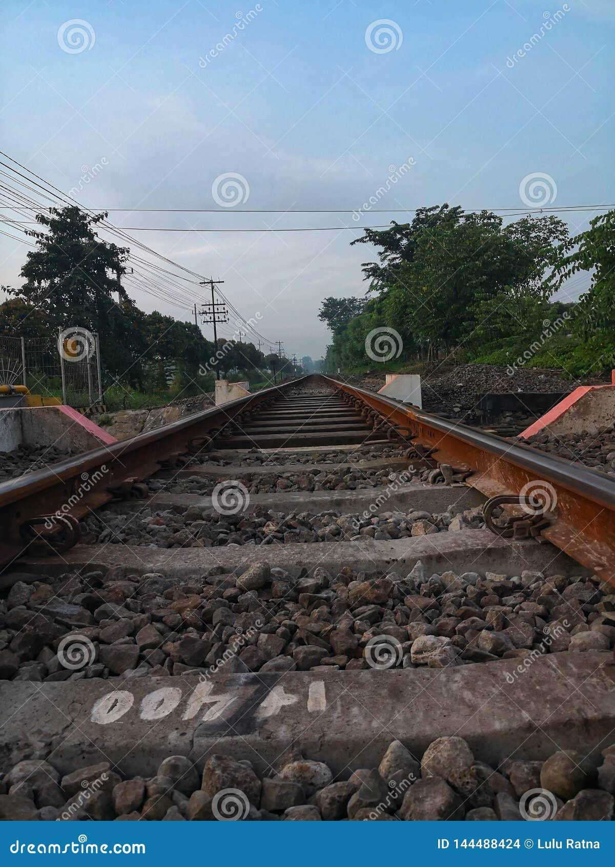Railroad in Surabaya East Java