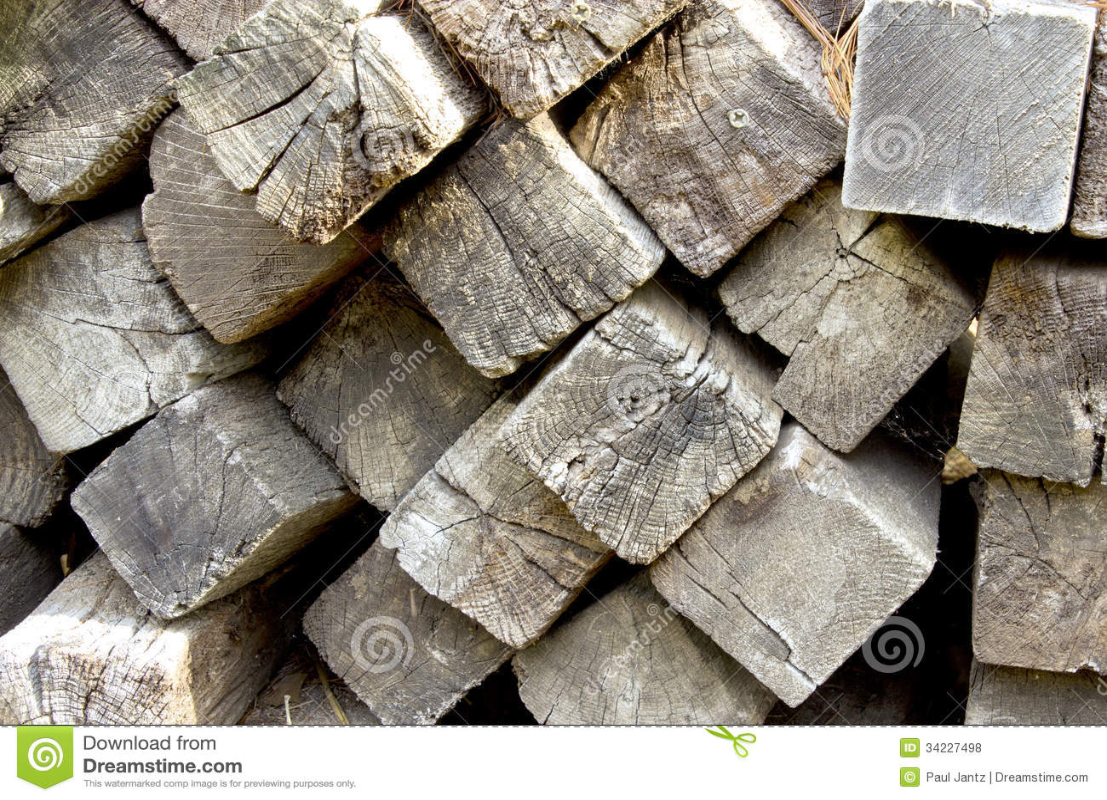 Railroad ties stock photo  Image of rough, seasoned, timbers - 34227498