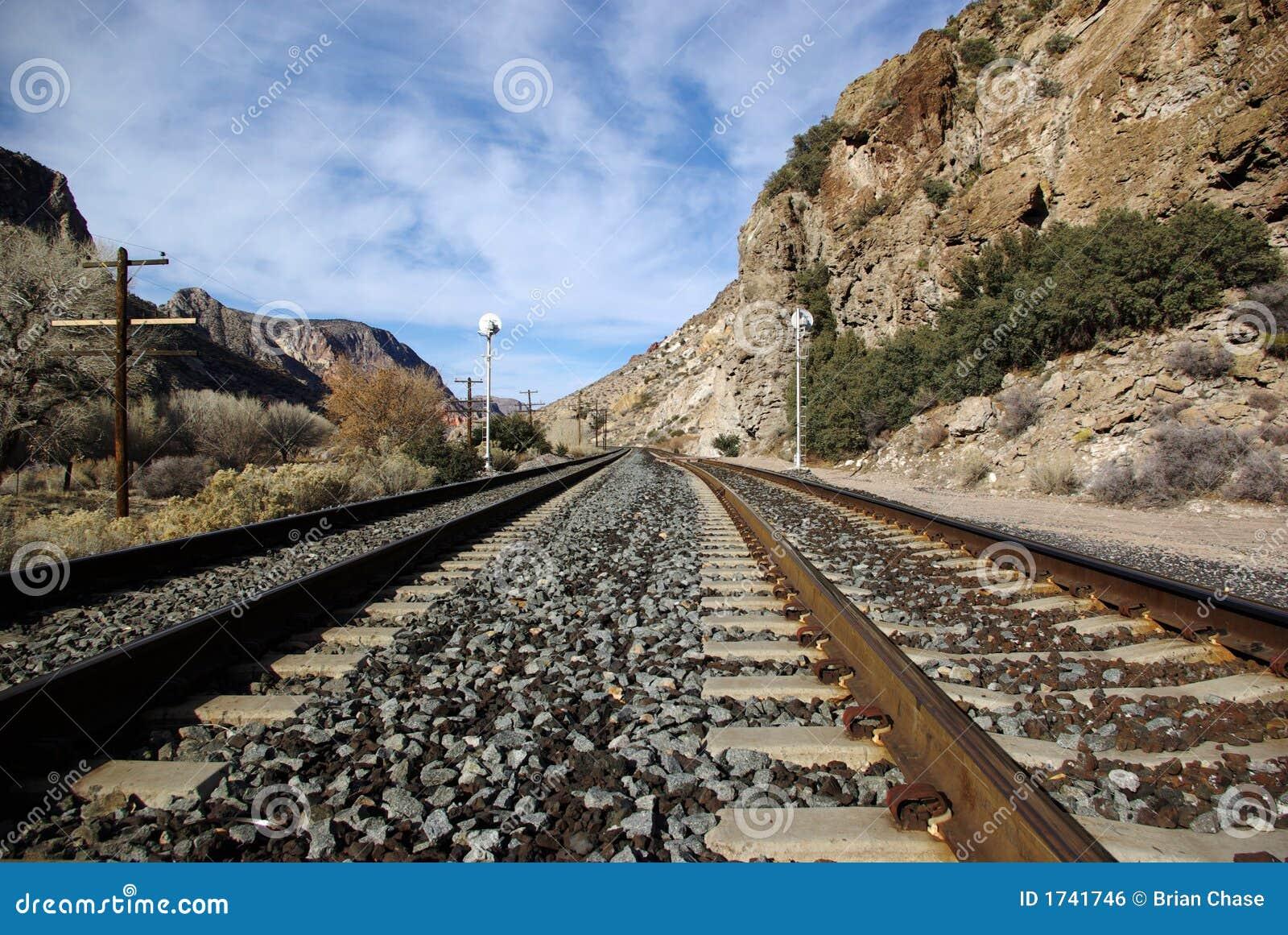 Railroad Tracks Royalty Free Stock Image - Image: 1741746