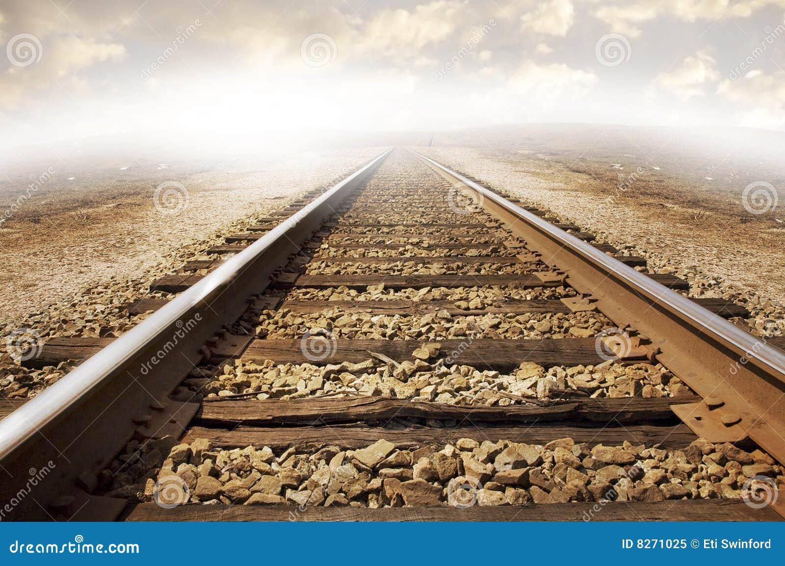 Railroad Tracks Royalty Free Stock Photo Image 8271025