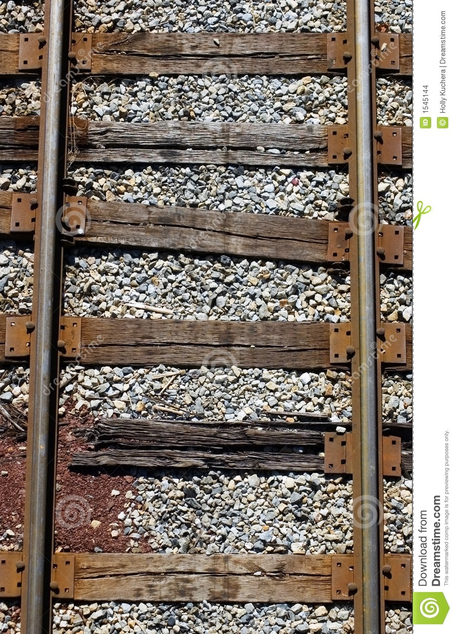 Railroad Tracks from Above