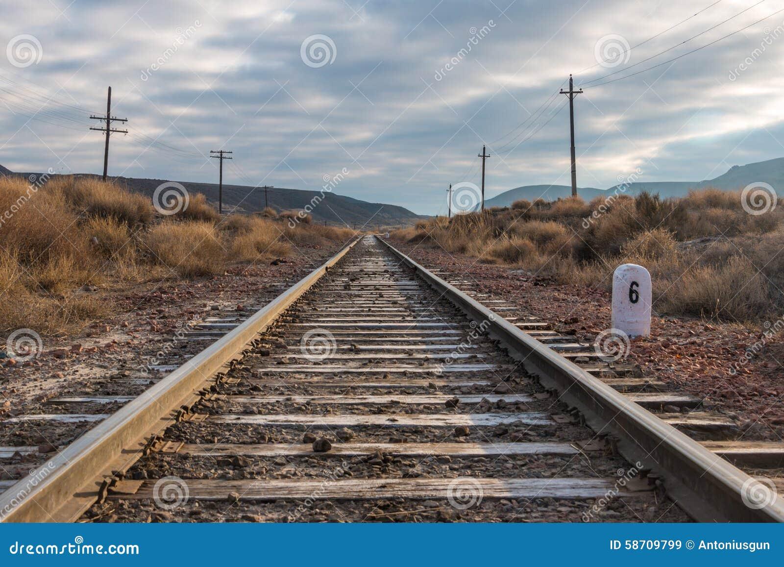Railroad tracks Railroad