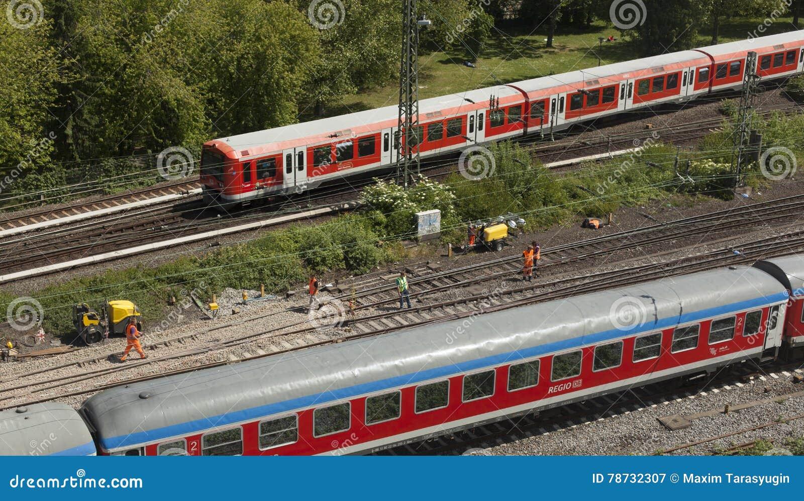 Railtracks i bussgarage