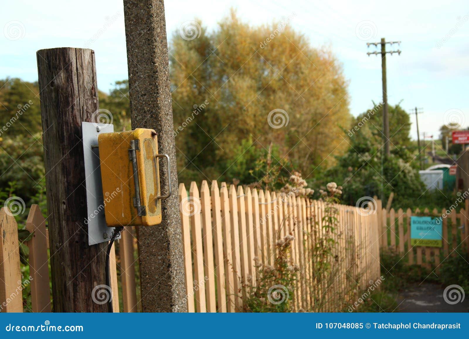 Telephone call box scene  stock image  Image of metal - 107048085