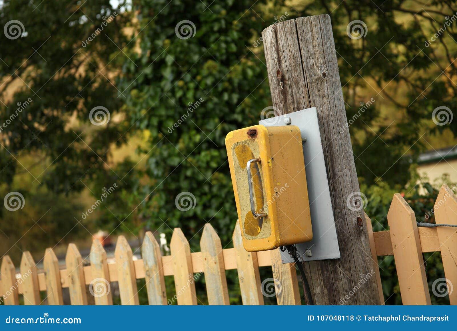 Telephone call box scene  stock photo  Image of conversation