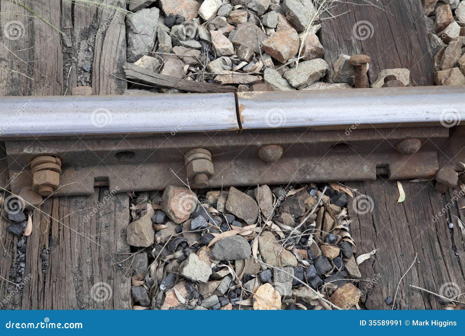 Railway line join