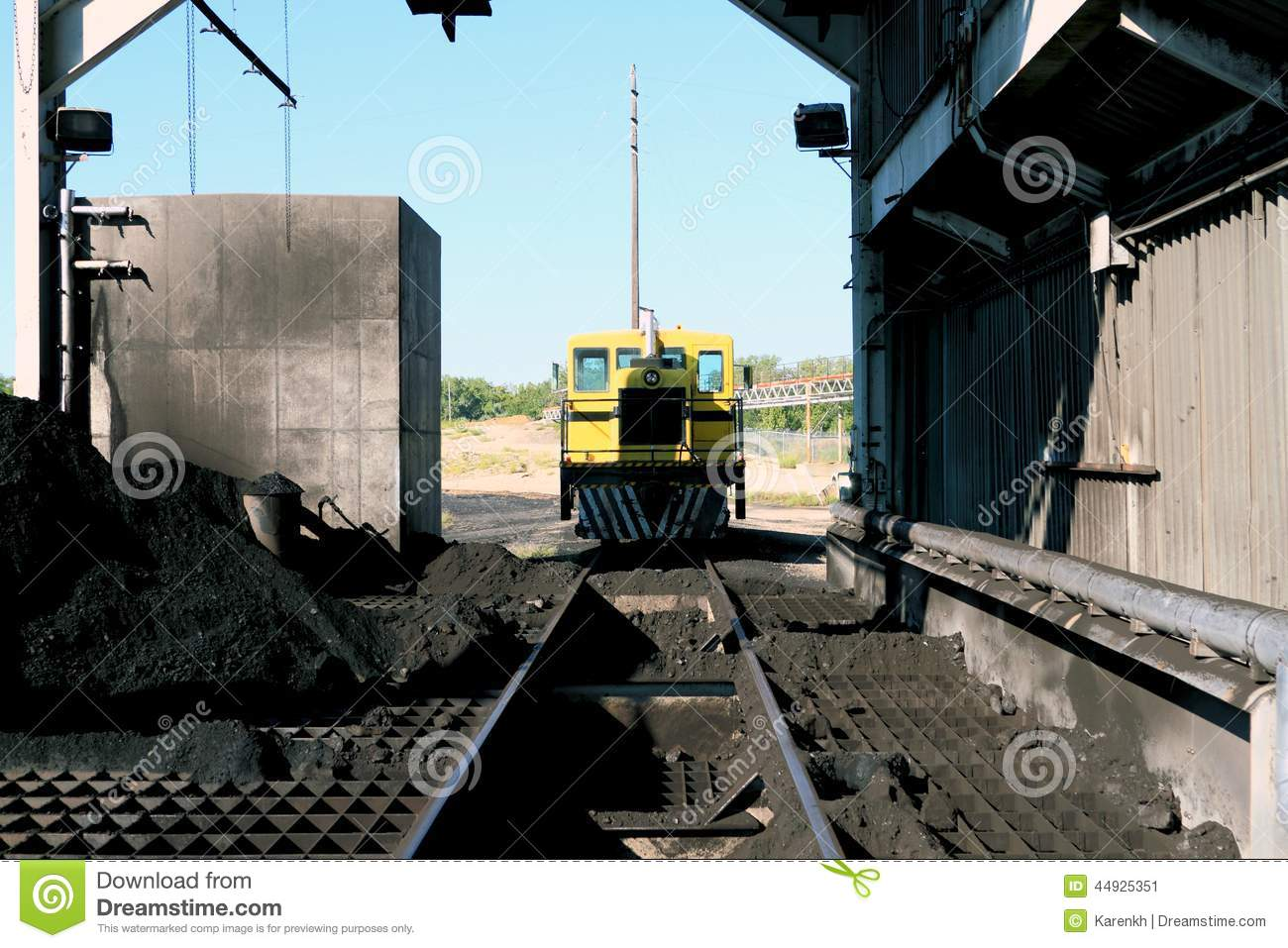 Snow Plough Car >> Railway Machinery. Royalty-Free Stock Photography | CartoonDealer.com #72442217