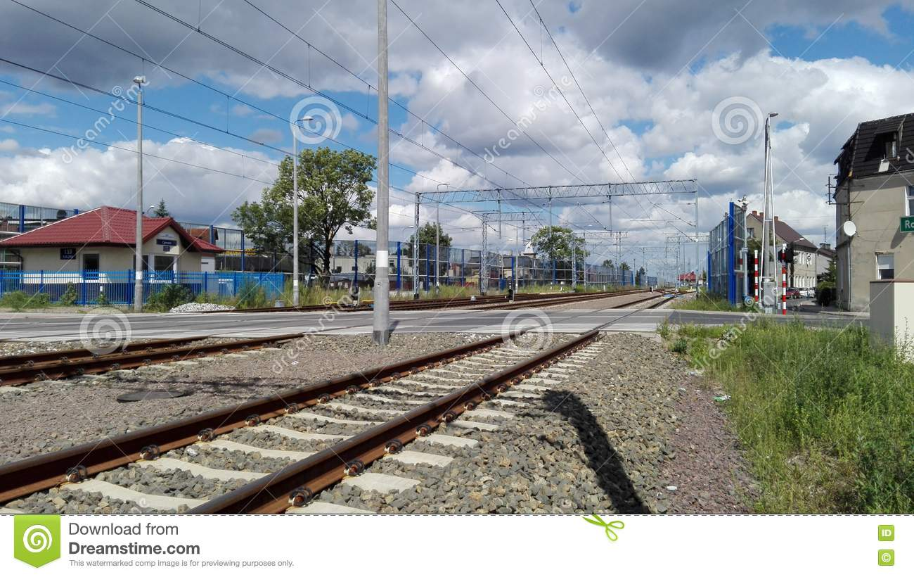 Railway Electric Traction Royalty-Free Stock Photography ...