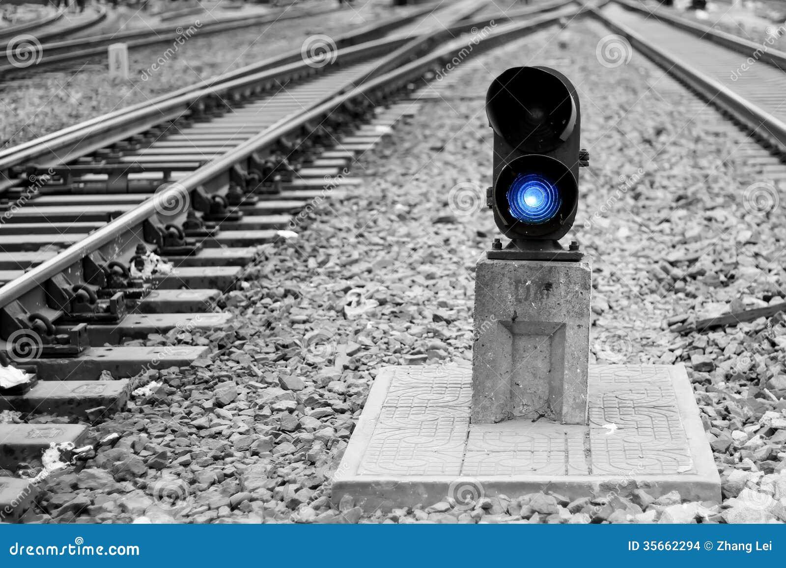 Railway Signal Lamp Stock Photo Image Of Transport Rail