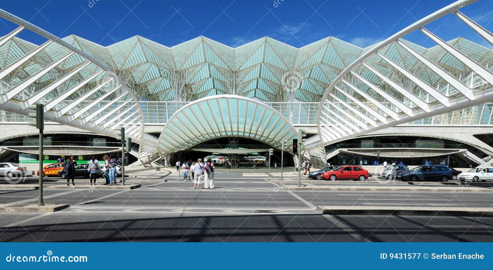 Railway station, Lisbon