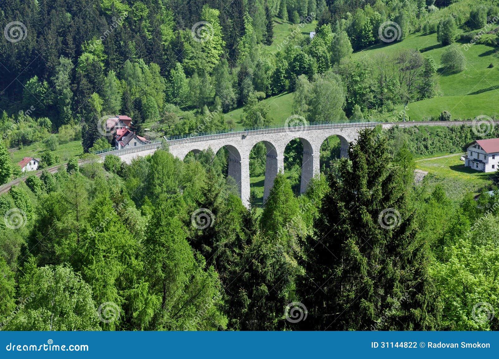 Download Railway viaduct stock photo. Image of czechoslovakia - 31144822