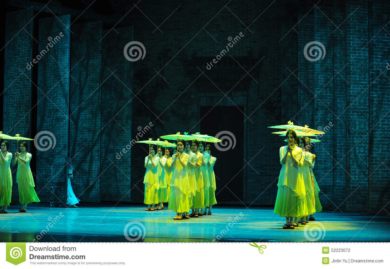 The Rain Beat On The Banana Leaf-The Second Act Of Dance Drama