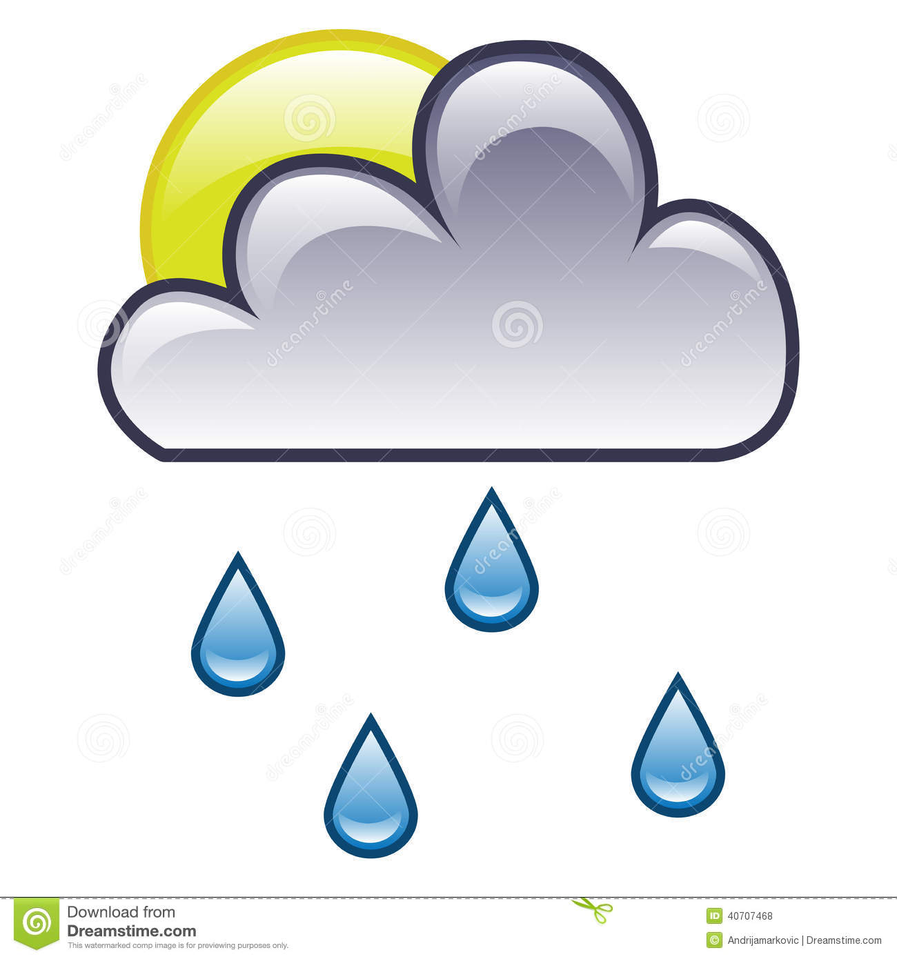 Rain Symbol On Weather Map 2018 Images Pictures Weather