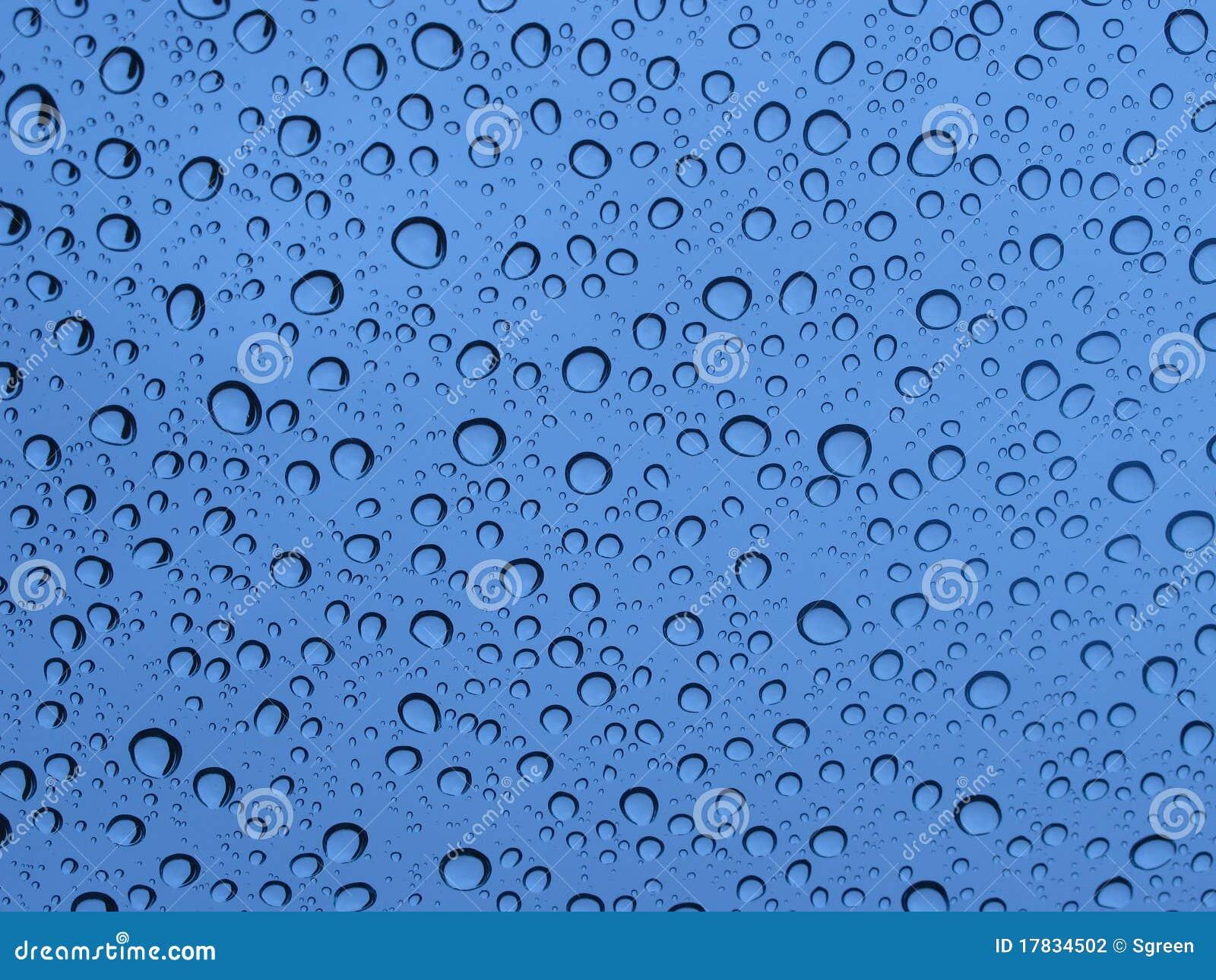 Rain Drops Stock Photography - Image: 17834502