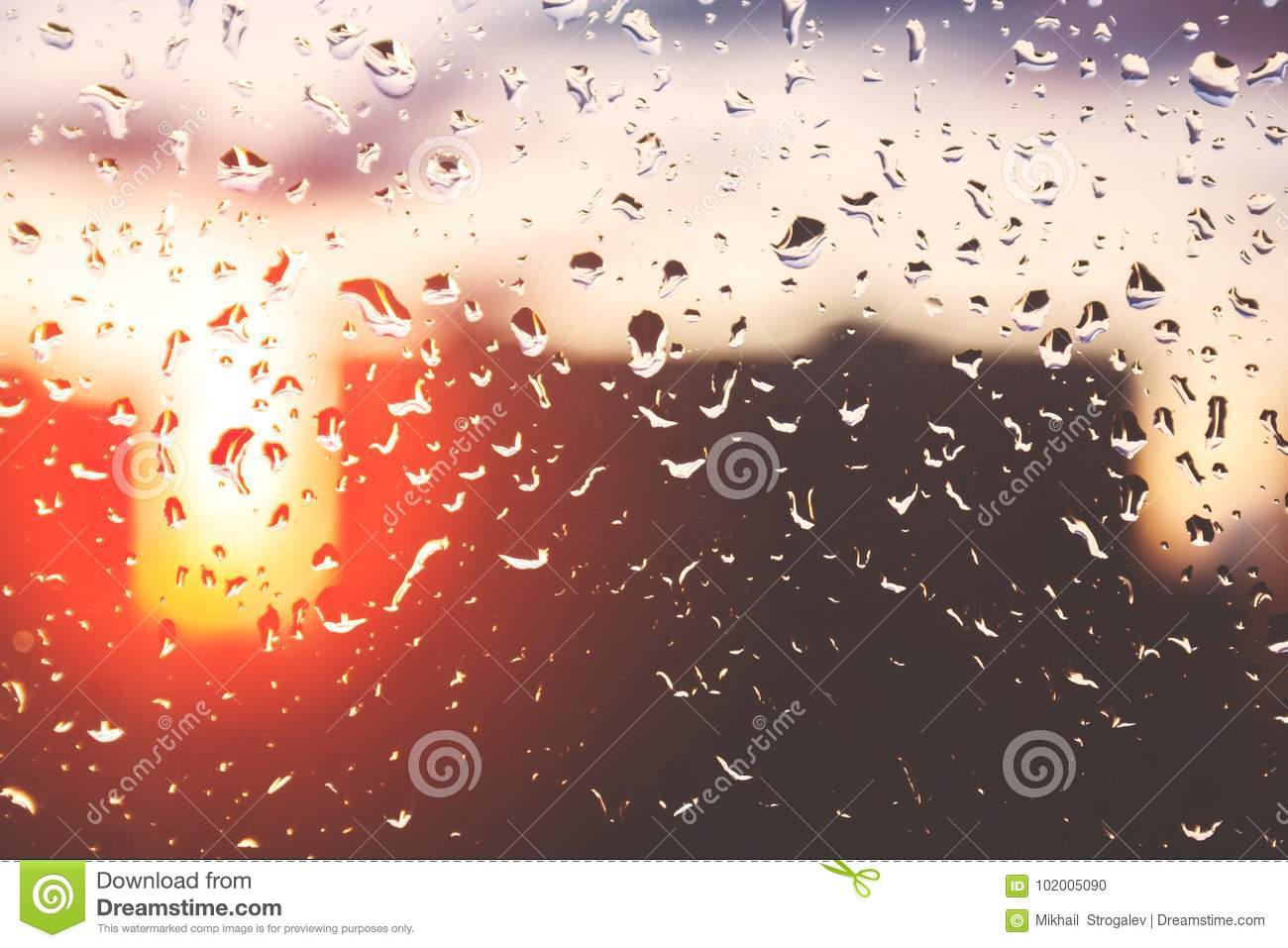 Rain 10x12 FT Backdrop Photographers,Close Up Rain Drops on Glass Natural Sprays Sphere Contrasting Colors Picture Background for Photography Kids Adult Photo Booth Video Shoot Vinyl Studio Props