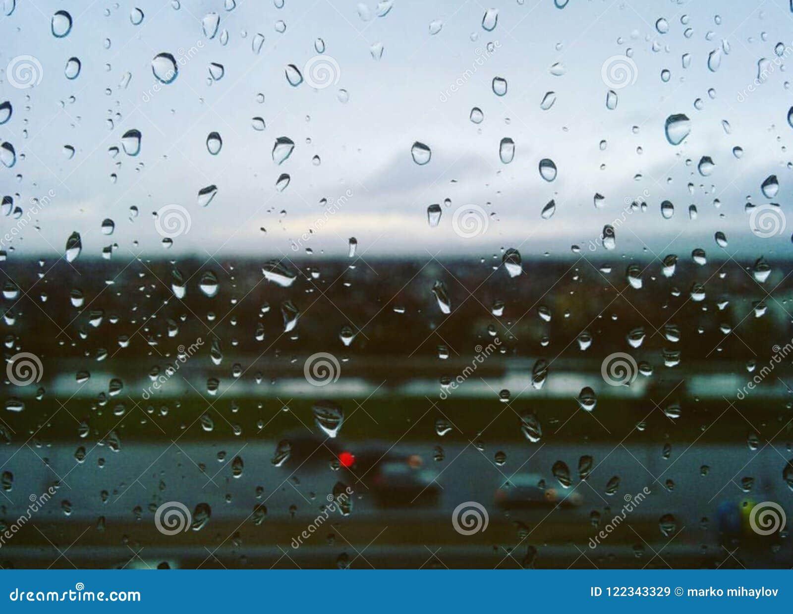 rain drops on window stock image image of window water 122343329