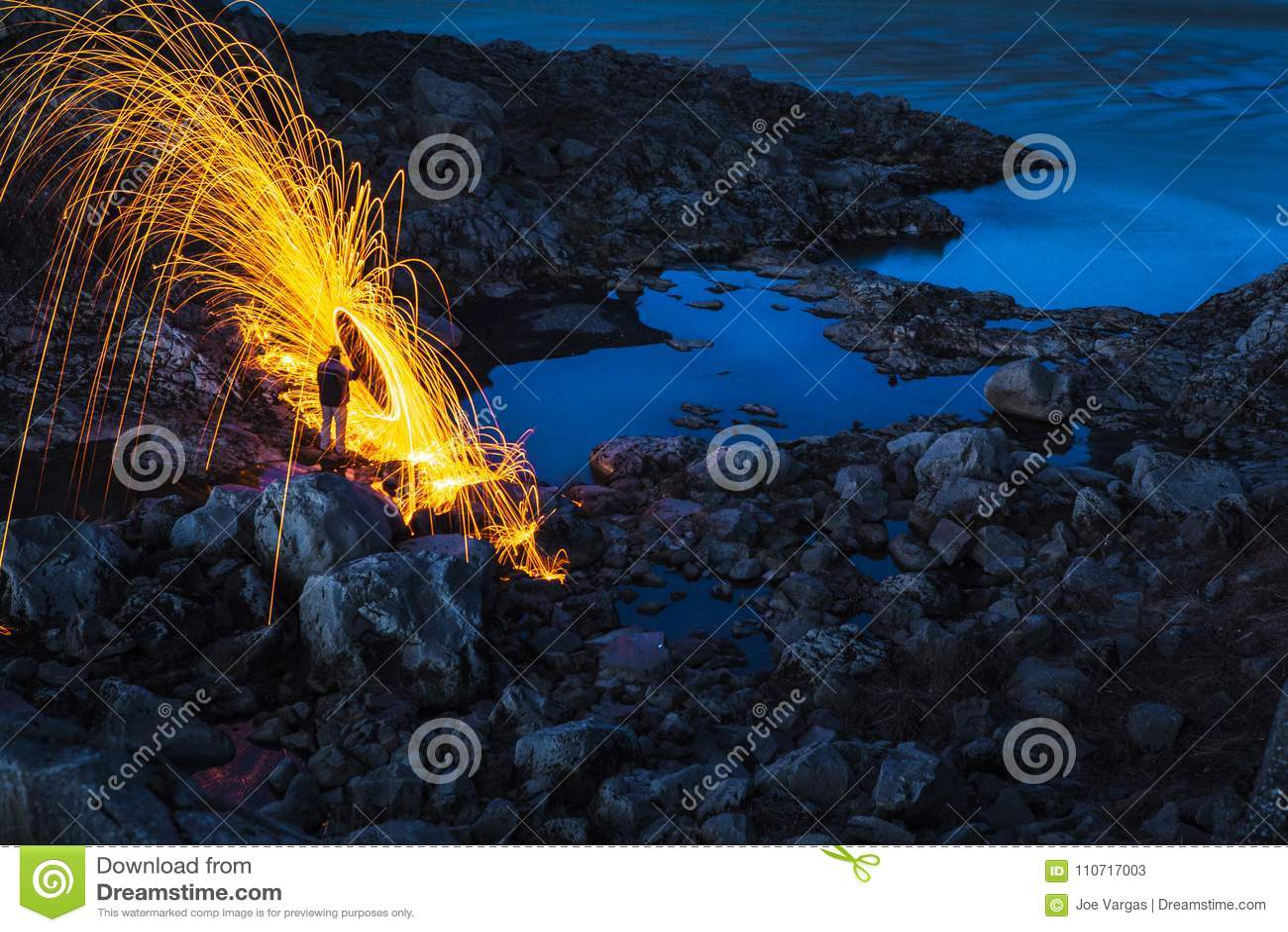 Rain of Fire in Iceland